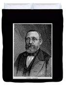 Rudolf Virchow (1821-1902) Duvet Cover