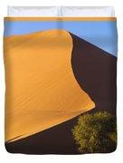 Sand Dune, Namibia, Africa Duvet Cover