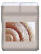 Seashell Surface Duvet Cover by Elena Elisseeva
