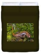 Seepage Salamander Duvet Cover