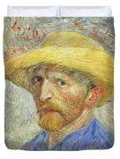 Self Portrait Duvet Cover by Vincent van Gogh