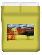 Tauromaquia Bull-fights In Spain Duvet Cover