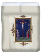 The Crucifixion Duvet Cover