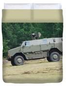 The Dingo 2 In Use By The Belgian Army Duvet Cover