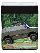 The Dingo 2 Mppv Of The Belgian Army Duvet Cover