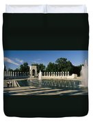 The Pacific Pavilion And Pillars Duvet Cover