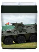 The Pandur 6x6 Family Of Wheeled Duvet Cover