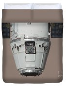 The Spacex Dragon Commercial Cargo Duvet Cover