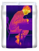 Thermography Duvet Cover