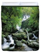 Torc Waterfall, Killarney, Co Kerry Duvet Cover