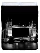 Tower Bridge At Night Duvet Cover