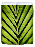 Tropical Palm Frond Duvet Cover