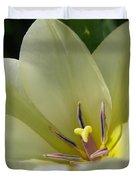 Tulip Named Perles De Printemp Duvet Cover