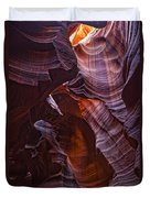 Upper Antelope Canyon, Arizona Duvet Cover