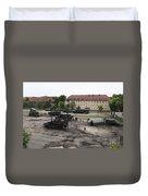 U.s. Soldiers Teach The Polish Military Duvet Cover
