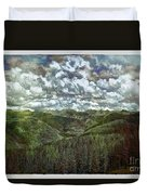 Vail Vista Duvet Cover