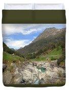 Valle Verzasca - Ticino Duvet Cover