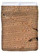 Venus Tablet Of Ammisaduqa, 7th Century Duvet Cover