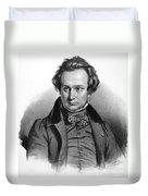 Victor Hugo (1802-1885) Duvet Cover