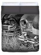 Vintage Frazer Auto Wreck Front Ends  Duvet Cover