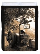 Vintage Machinery Duvet Cover