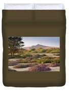 Wildflowers At Sossusvlei Duvet Cover