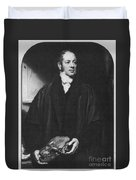 William Buckland, English Paleontologist Duvet Cover