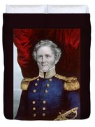 Winfield Scott, American Army General Duvet Cover