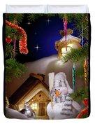 Wonderful Christmas Still Life Duvet Cover