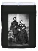 Civil War: Black Troops Duvet Cover