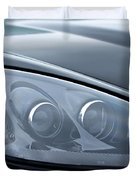 2002 Chevrolet Corvette Head Light Duvet Cover
