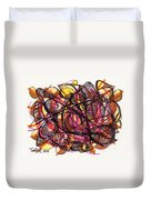 2010 Abstract Drawing 24 Duvet Cover