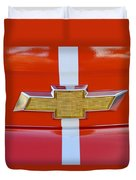2011 Chevrolet Camaro Hood Emblem Duvet Cover