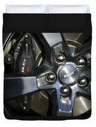 2011 Chevrolet Camaro Wheel Duvet Cover