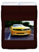 2012 Chevrolet Camaro Rs Duvet Cover