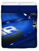 2012 Dodge Challenger Rt Duvet Cover