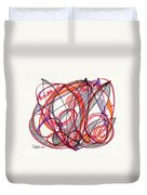 2012 Drawing #3 Duvet Cover