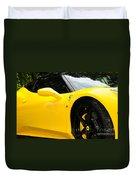 2012 Ferrari 458 Spider  Duvet Cover