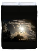 2012 Sunset October 26 Duvet Cover