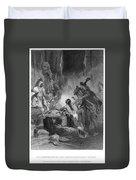 Pocahontas (1595?-1617) Duvet Cover