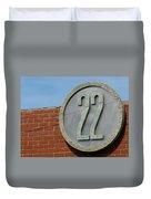 22 Sign Duvet Cover