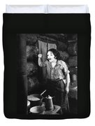 Silent Film Still Duvet Cover