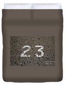 23 Duvet Cover