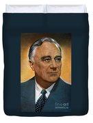 Franklin D. Roosevelt Duvet Cover