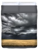 Storm Clouds Saskatchewan Duvet Cover