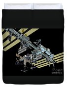Computer Generated View Duvet Cover by Stocktrek Images