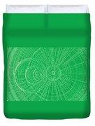 Circle Art Duvet Cover