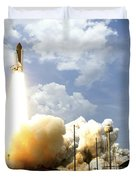 Space Shuttle Atlantis Lifts Duvet Cover