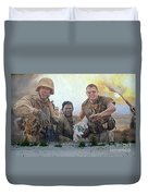 29 Palms Mural 2 Duvet Cover