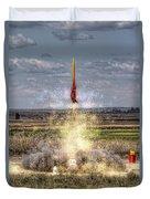 3 2 1 Launch Duvet Cover